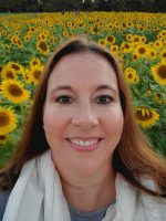 me and sunflowers - BRANDY HICKS